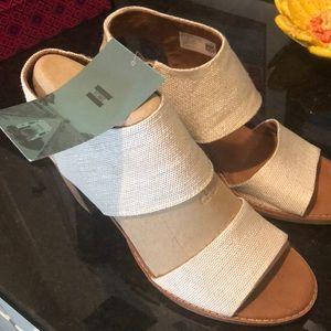 Toms Majorca Cutout Sandals size 9